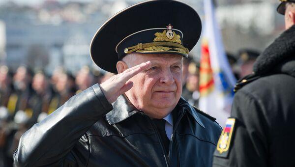 Заместитель командующего Черноморским флотом вице-адмирал Валерий Куликов. Архивное фото