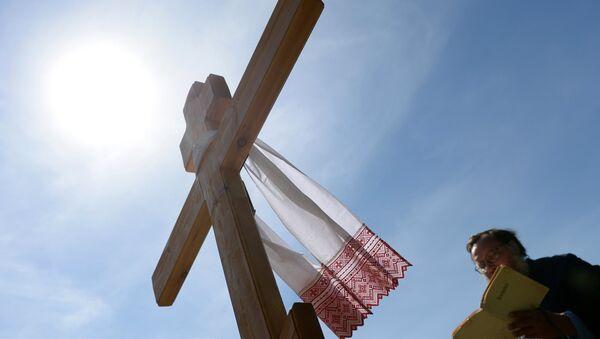 Установка креста