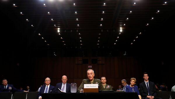 Генерал Джозеф Данфорд в Вашингтоне. 26 сентября 2017