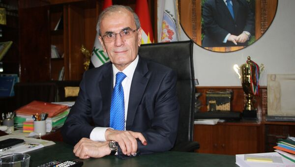Губернатор иракской провинции Киркук Наджмаддин Карим