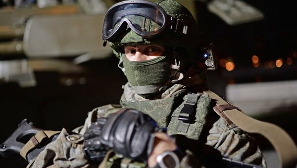 Российский военнослужащий. Архивное фото