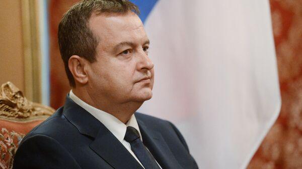 Министр иностранных дел Сербии Ивица Дачич. Архивное фото