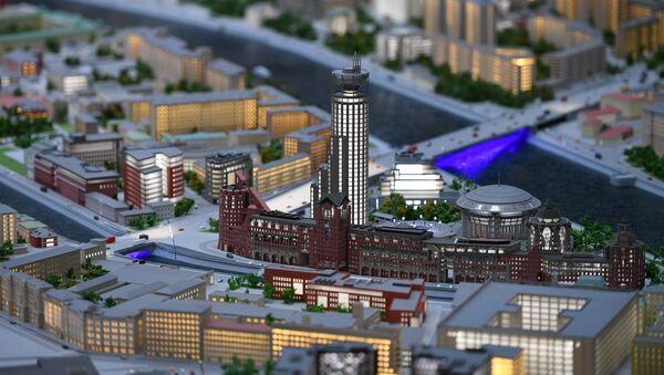 Обновленный архитектурный макет Москвы представлен на ВДНХ