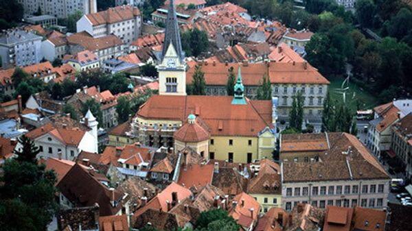 Словения, Любляна. Архивное фото