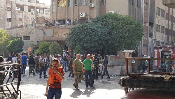 Ситуация в Дамаске. Архивное фото