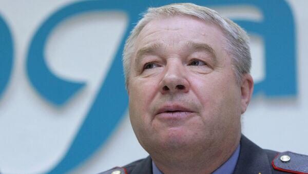 Начальник полиции Вячеслав Козлов. Архивное фото