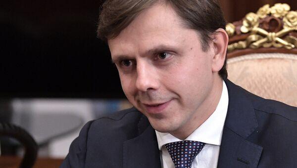 Временно исполняющий обязанности губернатора Орловской области Андрей Клычков. Архивное фото