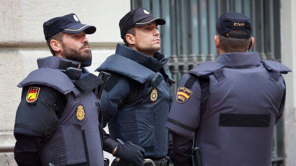 Сотрудники полиции в Барселоне. Архивное фото