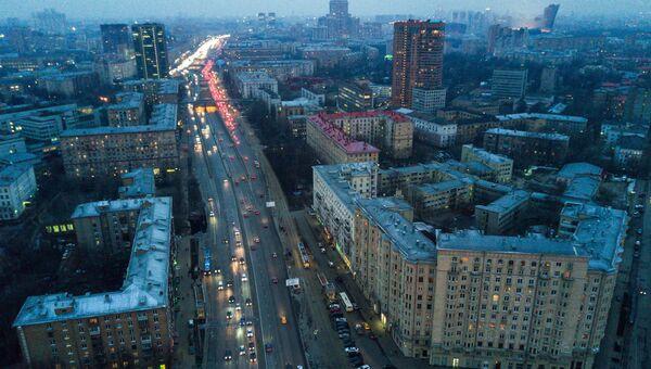 Волоколамское шоссе. Архивное фото