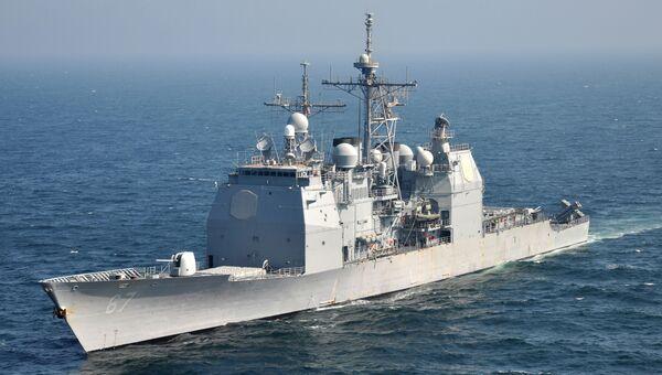 Крейсер Шайло ВМС США. Архивное фото