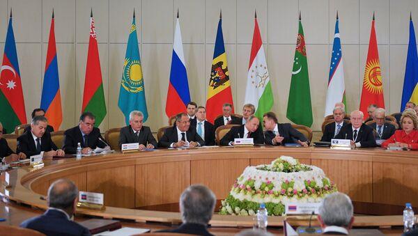 Заседание Совета глав государств – участников СНГ в Сочи. 11 октября 2017