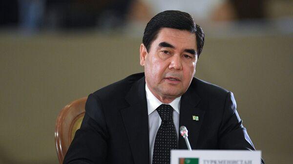 Президент Туркмении, председатель кабинета министров Туркмении Гурбангулы Бердымухамедов