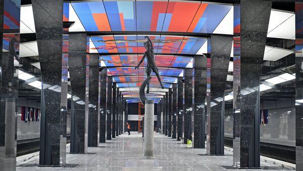 Станция метро ЦСКА в Москве. Архивное фото