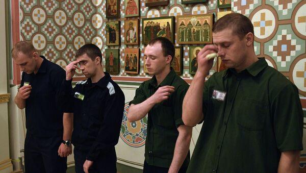 Молебен о совершении правосудия в Бутырской тюрьме