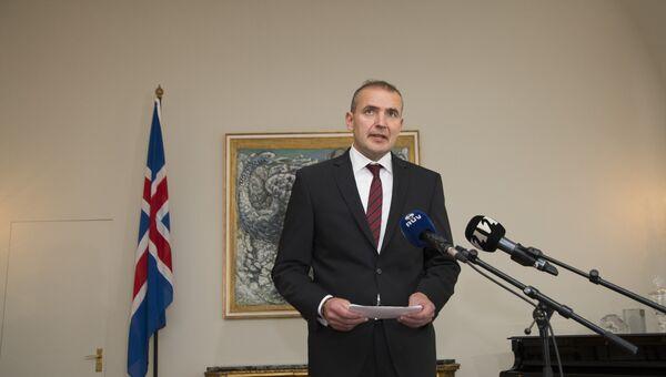 Президент Исландии Гвюдни Йоуханнессон. Архивное фото