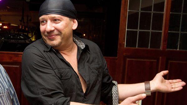 Актер Дмитрий Марьянов на вечеринке в честь дня рождения актера Гоши Куценко