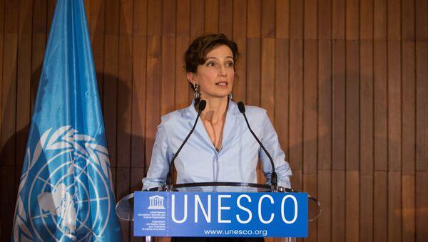 Генеральный директор ЮНЕСКО Одри Азуле. Архивное фото