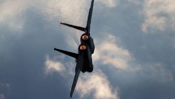 Истребитель F-15 ВВС Израиля. Архивное фото