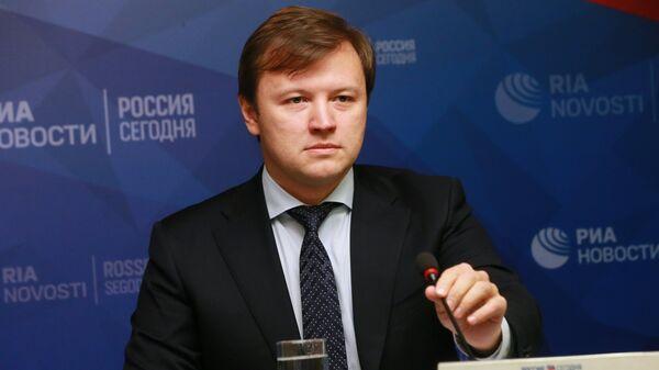 Руководитель Департамента экономической политики и развития города Москвы Владимир Ефимов