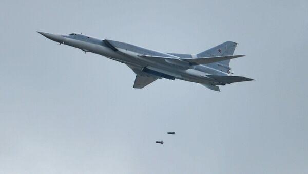 Самолет Ту-22М3. Архивное фото
