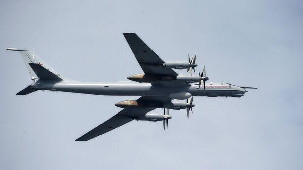 Стратегический дальний ракетоносец Ту-95