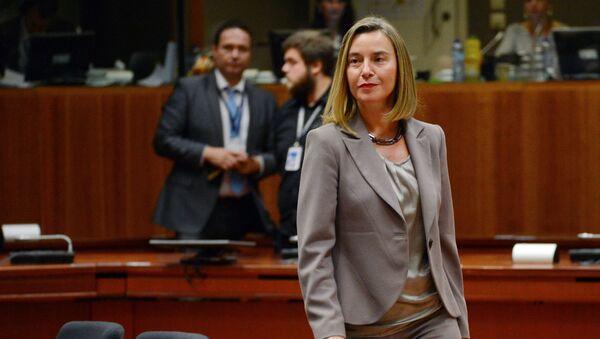 Главный уполномоченный Европейского Союза по иностранным делам и политике безопасности Федерика Могерини. Архивное фото