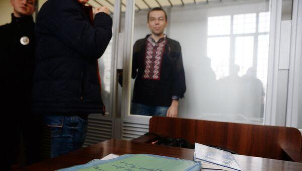 Журналист Василий Муравицкий в Королёвском районном суде в Житомире. 24 октября 2017