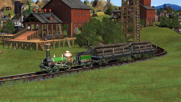 Скриншот игры Железные дороги Сида Мейер