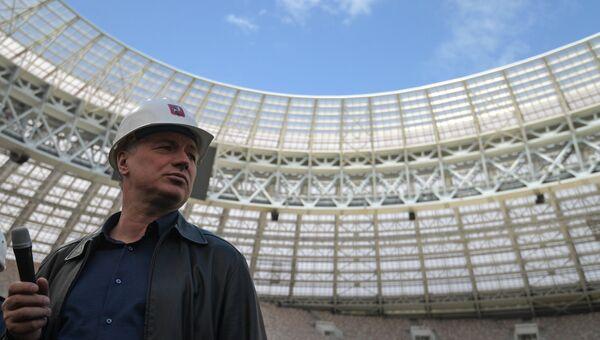 Заместитель мэра Москвы в правительстве Москвы по вопросам градостроительной политики и строительства Марат Хуснуллин