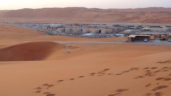 Нефтегазовое месторождение в Саудовской Аравии