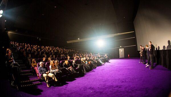 Во время мероприятия, посвящённого премьере фильма Матильда в Берлине. Архивное фото