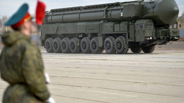 Межконтинентальная баллистическая ракета Ярс