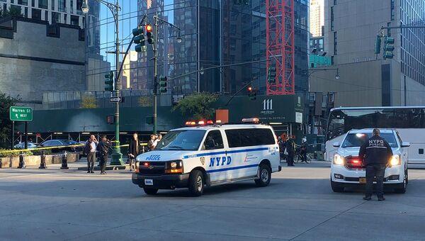 Полиция в районе места теракта в Нью-Йорке. 1 ноября 2017