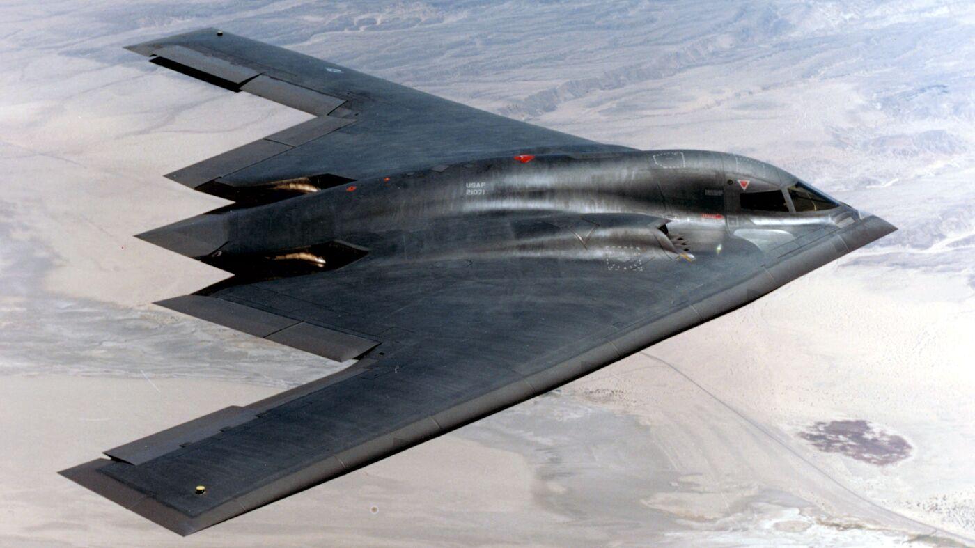 Обои стратегический, b-2 spirit, бомбардировщик, Northrop. Авиация foto 17