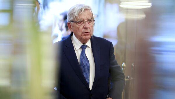 Спецпредставитель Франции по отношениям с РФ Жан-Пьер Шевенман. Архивное фото