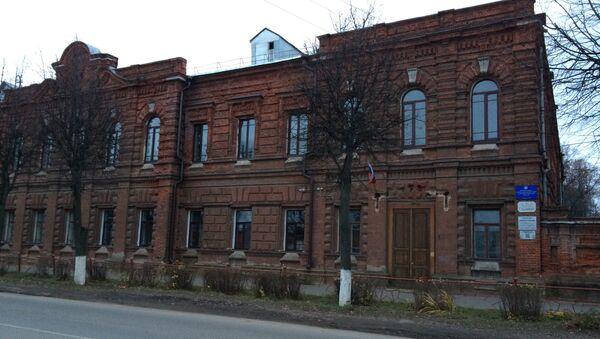Мужская классическая гимназия, где учился поэт Константин Бальмонт (ныне средняя общеобразовательная школа №2 имени К.Бальмонта)