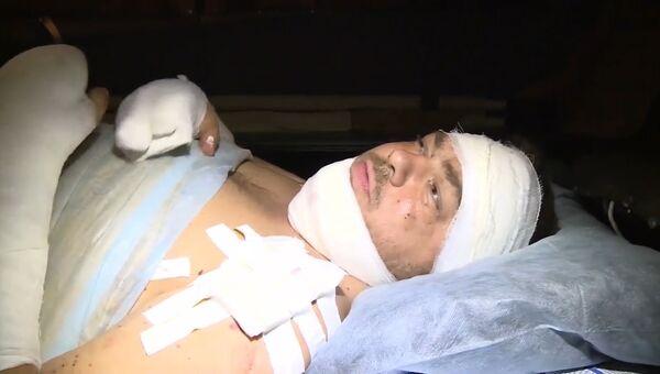 Раненные в Сирии взрывом фугаса российские журналисты рассказали о случившемся