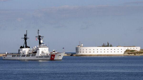 Сторожевой корабль береговой охраны ВМС США Даллас прибыл в Севастополь