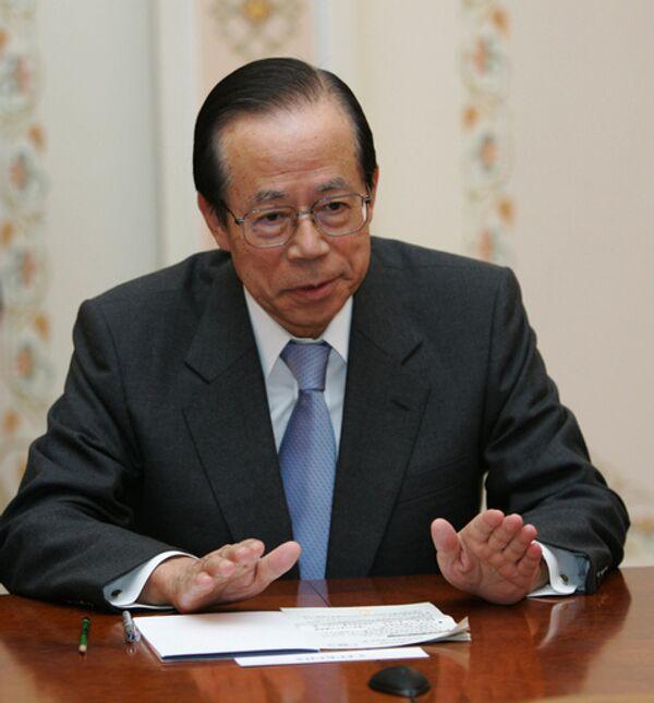 Премьер-министр Японии Ясуо Фукуда