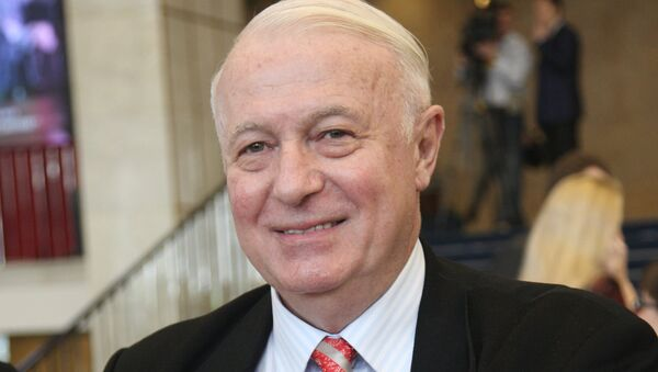 Телеведущий Борис Ноткин. Архивное фото