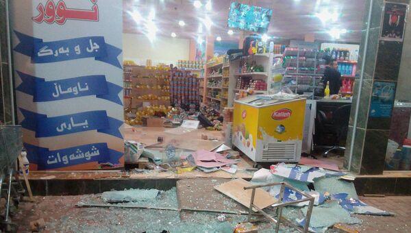 Последствия землетрясения в Халабдже, Ирак. 12 ноября 2017 год