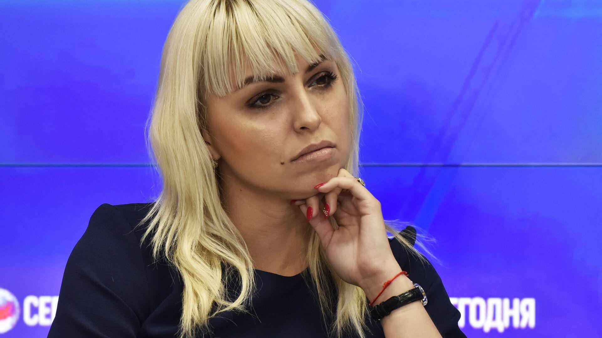 Председатель Украинской общины Крыма Анастасия Гридчина - РИА Новости, 1920, 26.02.2021
