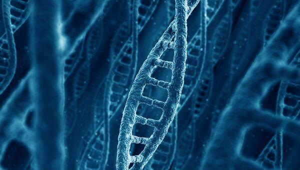Молекулы ДНК. Архивное фото