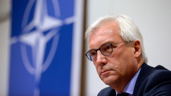 Постоянный представитель Российской Федерации при НАТО Александр Грушко