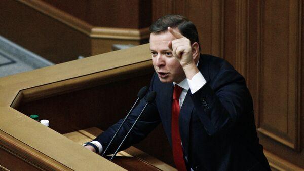 Лидер фракции Радикальной партии Олег Ляшко