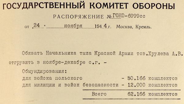Рассекреченые документы из центрального архива Минобороны России, опубликованные в рамках спецпроекта Память против забвения