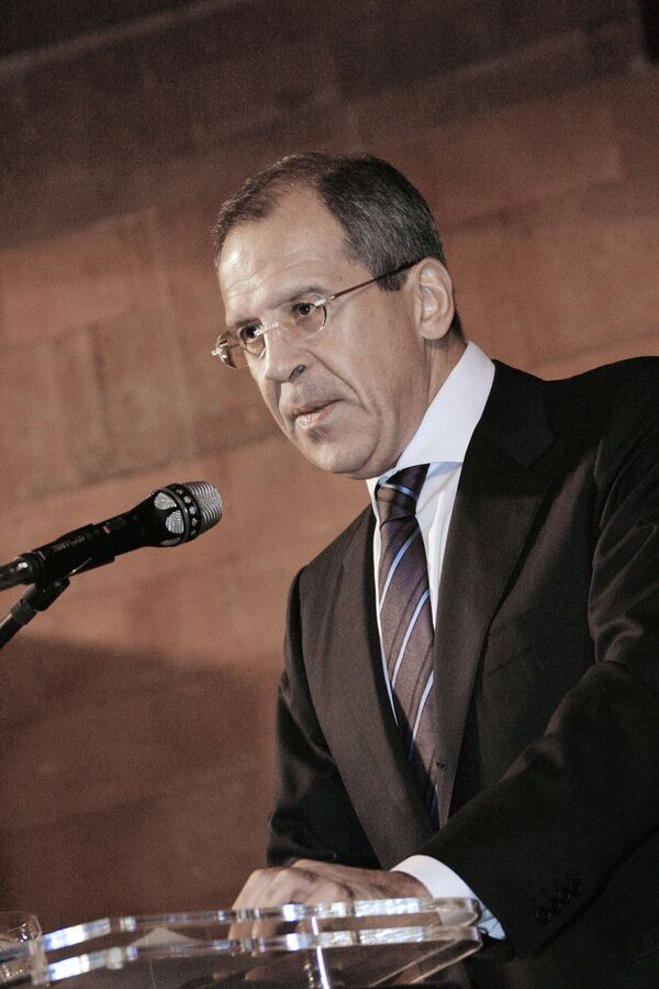На проходящей в Женеве конференции по разоружению министр иностранных дел России Сергей Лавров выдвинул ряд инициатив