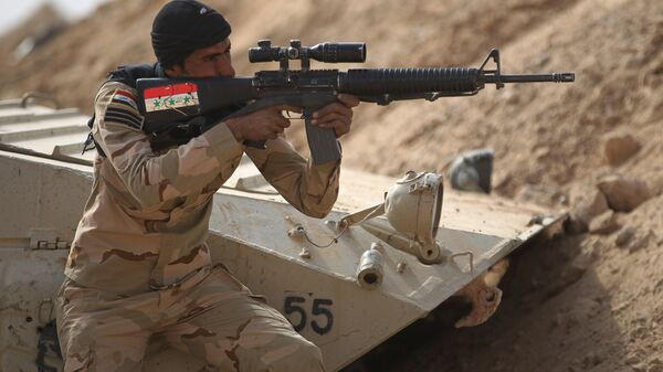 Иракский военный. Архивное фото