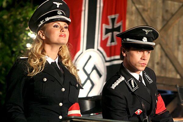Кадр из шпионской комедии Марюса Вайсберга Гитлер капут!