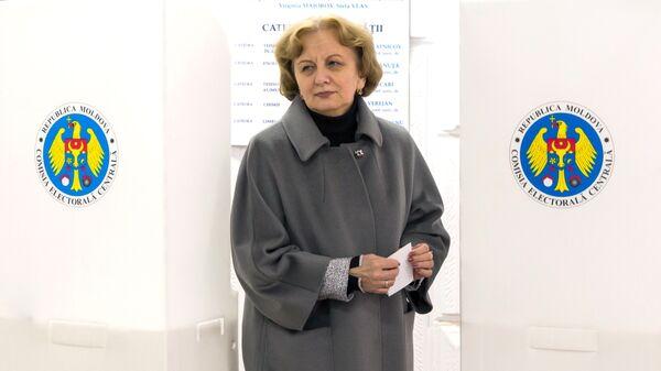 Председатель Партии социалистов республики Молдова Зинаида Гречаная